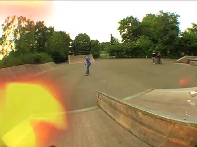 Schöne Clips von Gregor Flother und Impakt Skateboards