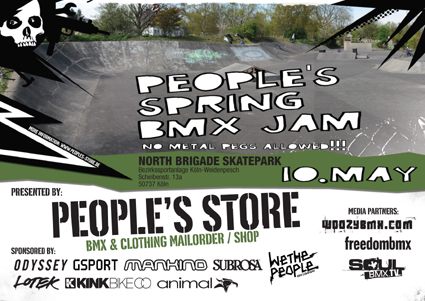 People's Spring BMX Jam 2008