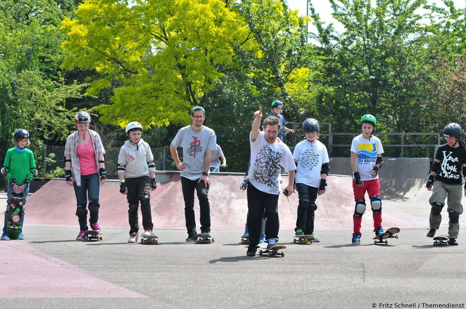 Skateboardakademie gestartet – Basic-Kurse schon im Mai
