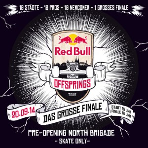 REDBULL  OFFSPRINGS TOURFINALE 2014